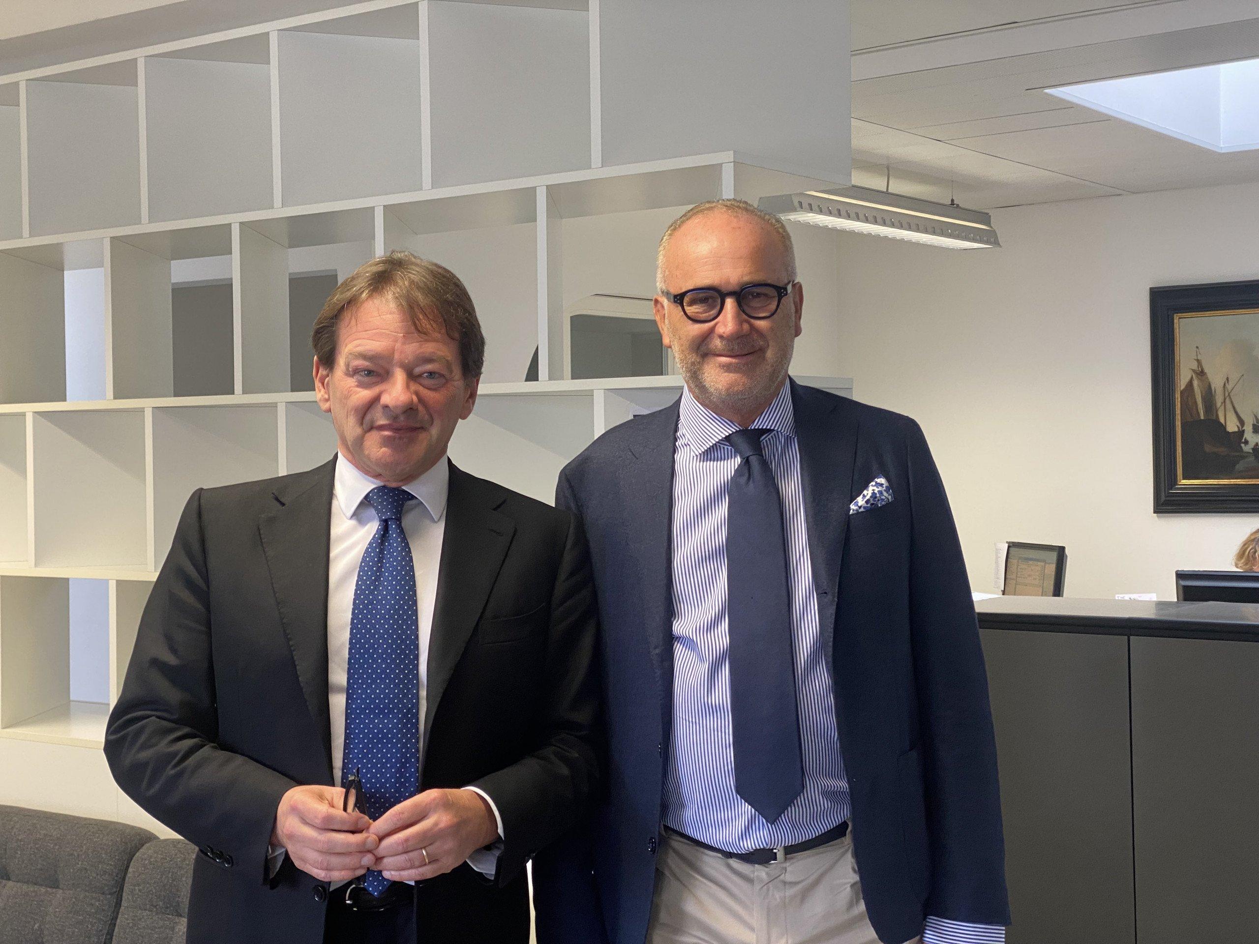 Giovanni Bossi e Gabriele Piccolo